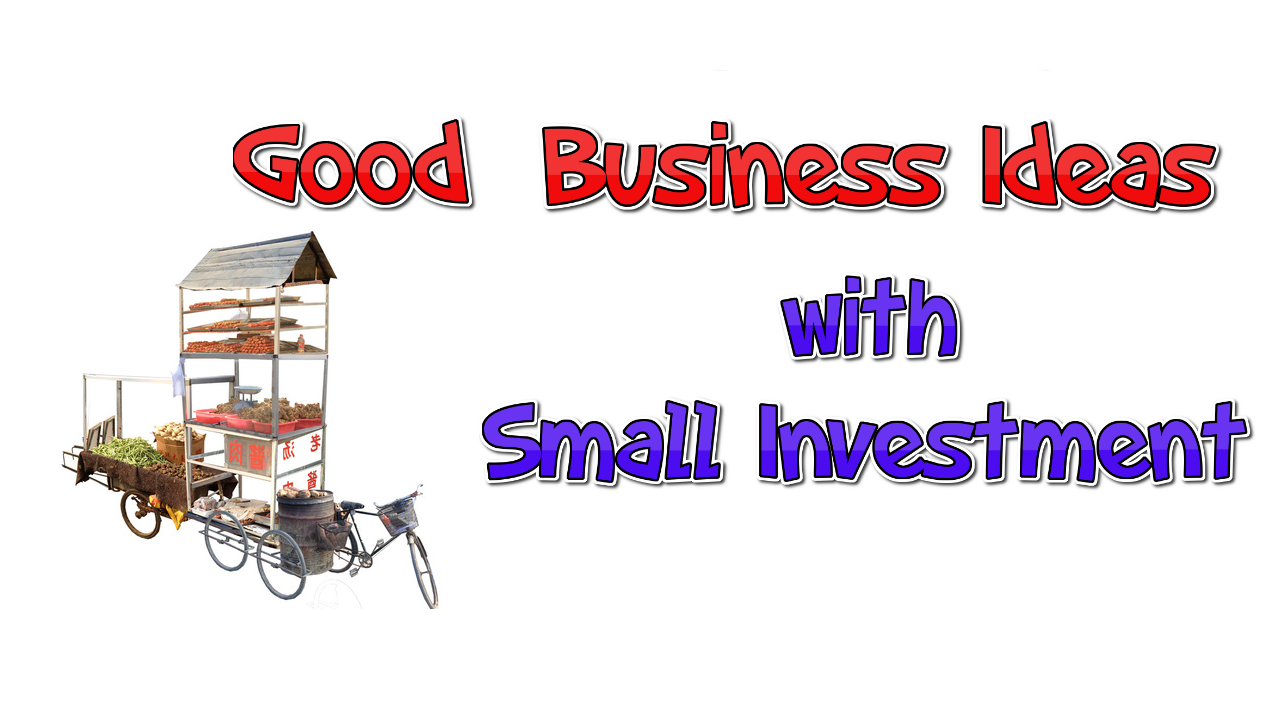 15 Good Business Ideas with Small Investment