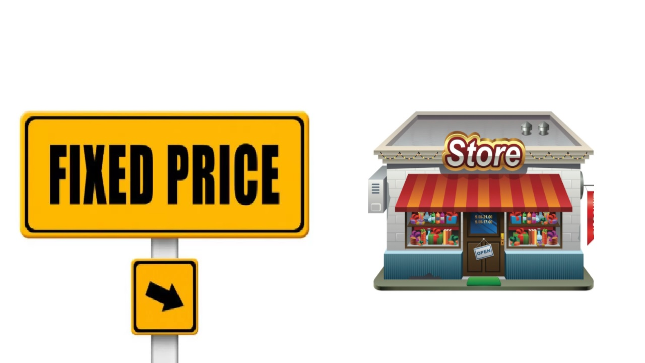 How to Open a Fixed Price Shop Business