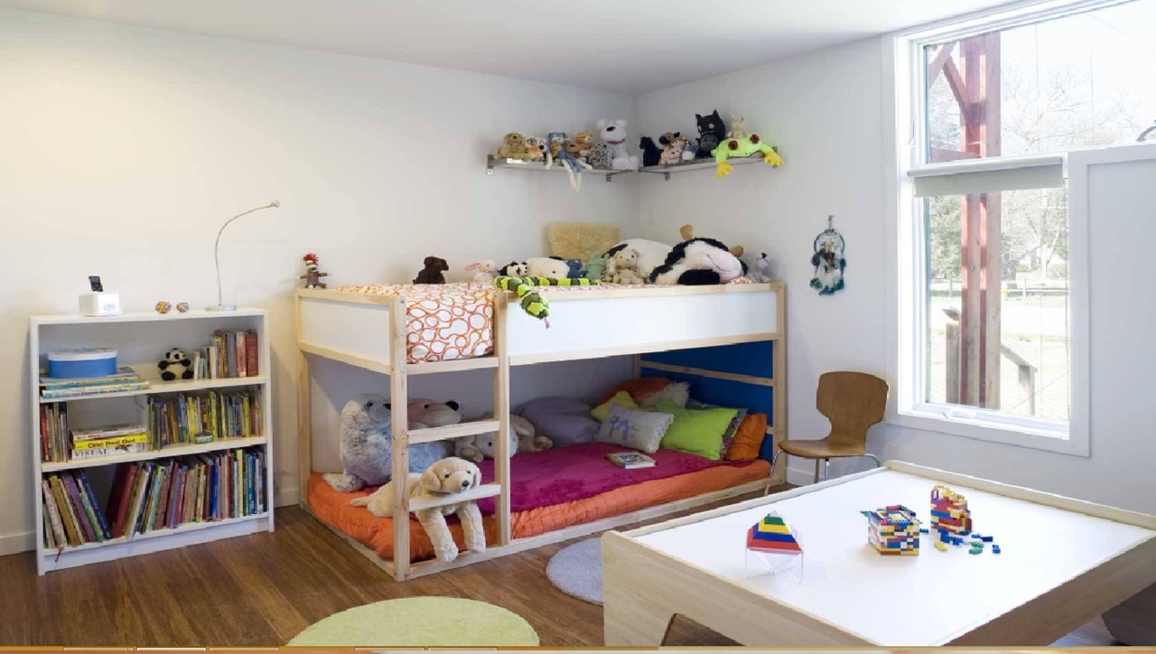 18 modern bunk beds ideas business daily 24 for Modern bunk beds for kids