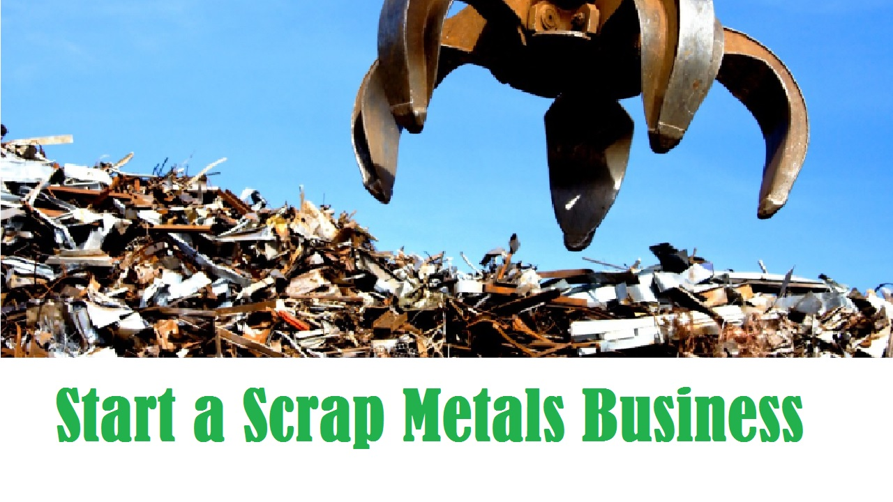 Start a Scrap Metals Business