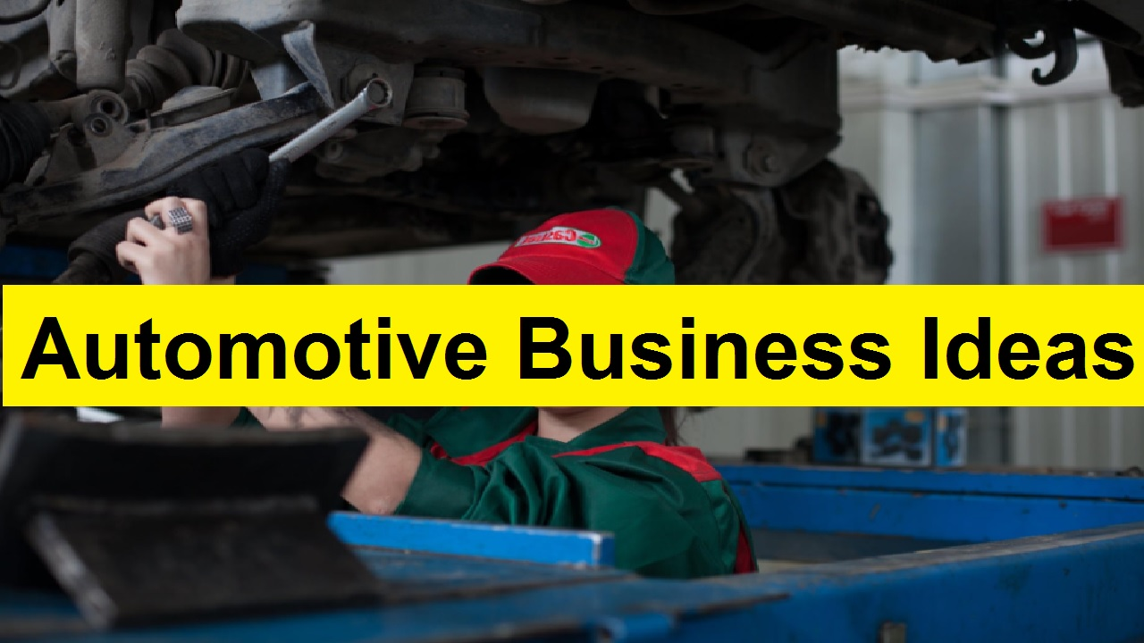 Best UK Based Automotive Business Ideas