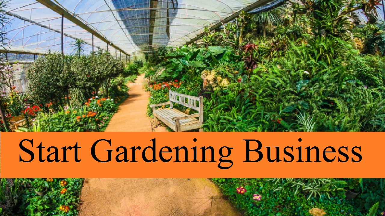 How to Start Gardening Business in the UK