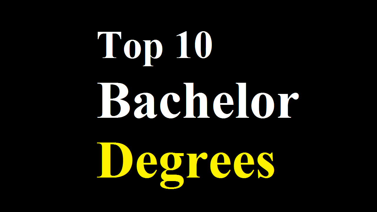 Top 10 Bachelor Degrees in the UK
