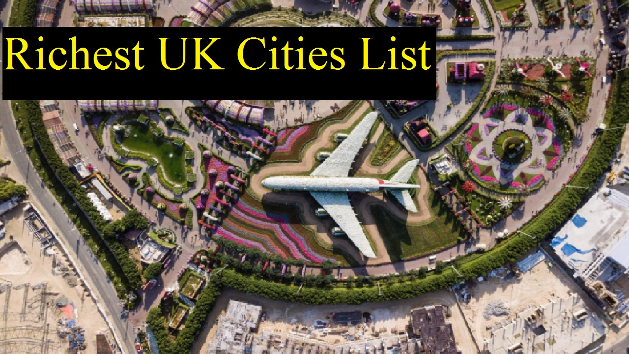 10 Richest UK Cities