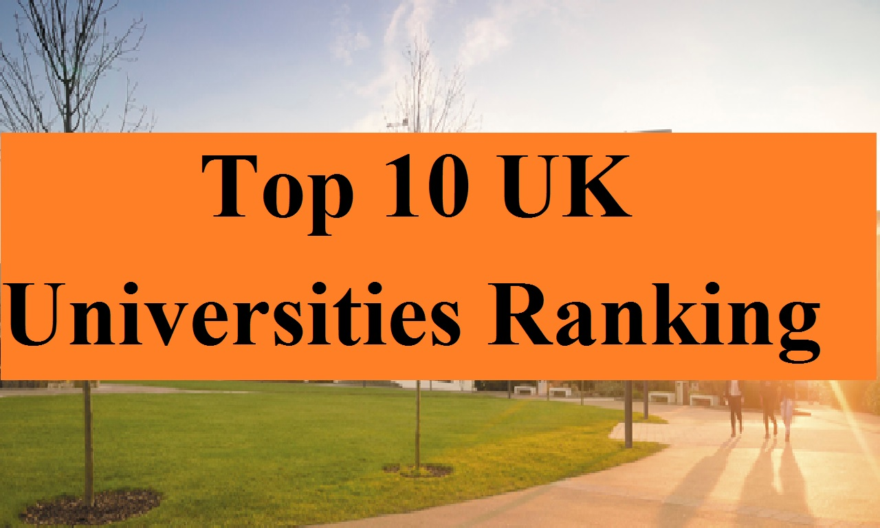 Top 10 UK Universities Ranking 2018