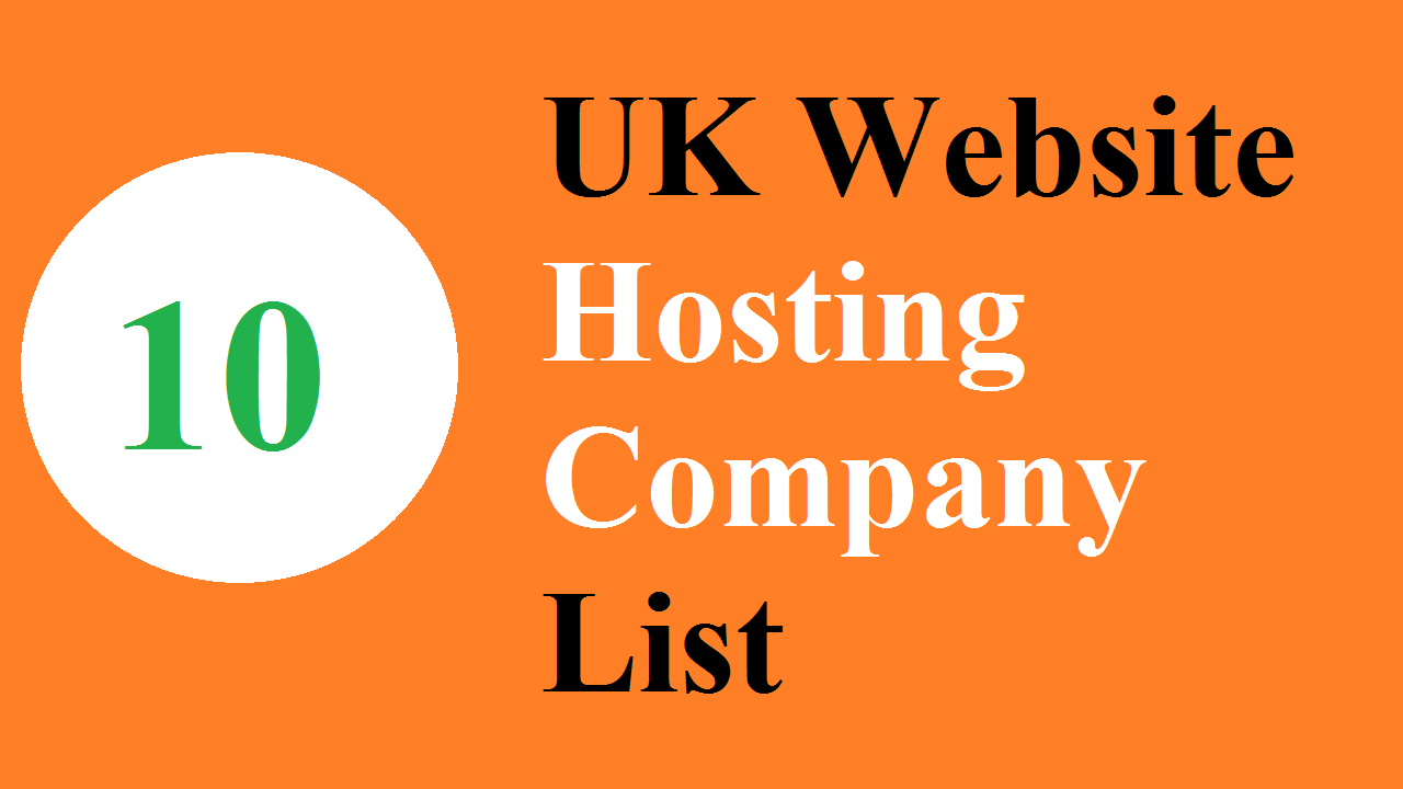 Top 10 UK Website Hosting Company List