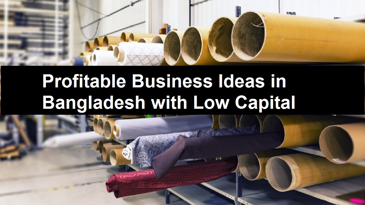 Profitable Business Ideas in Bangladesh with Low Capital