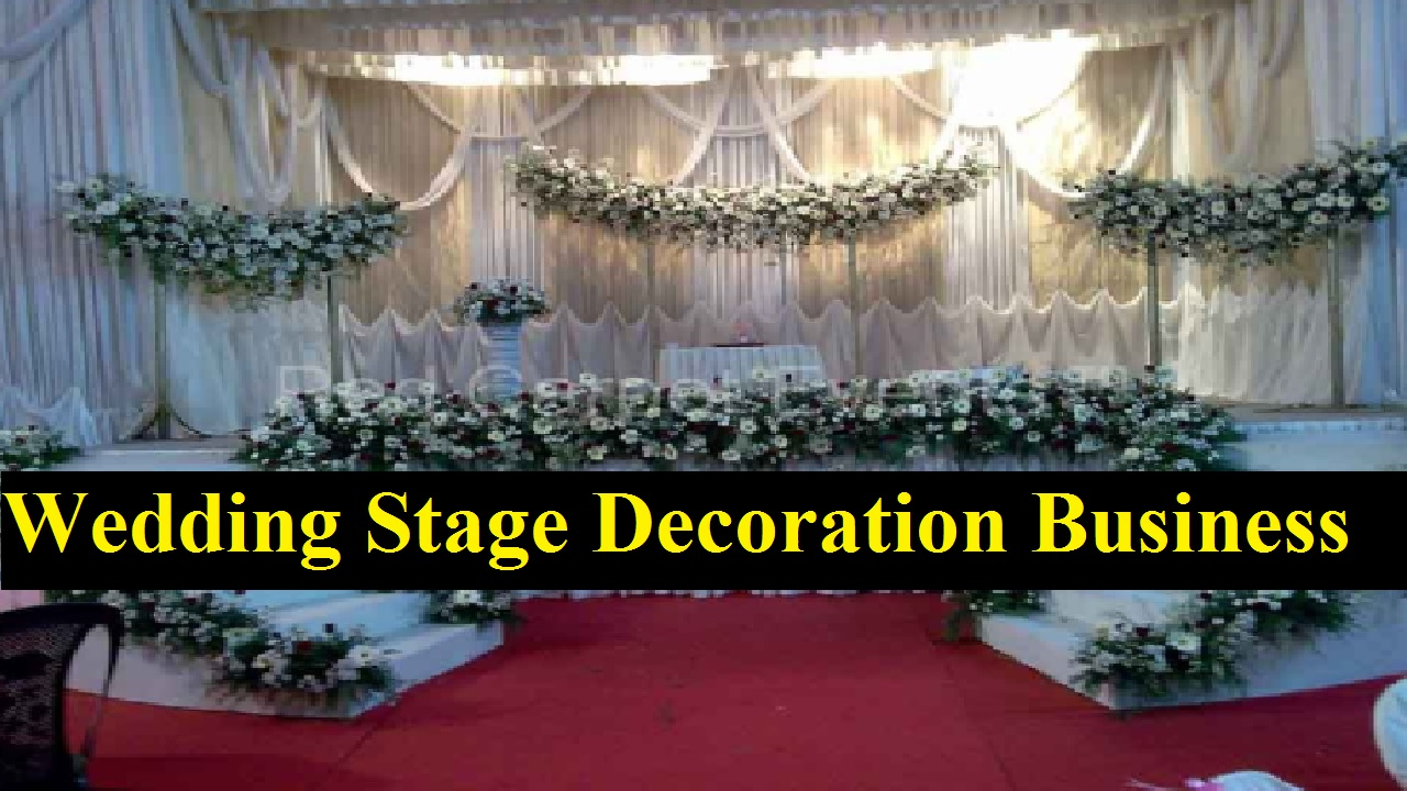 Wedding Stage Decoration Business in Bangladesh