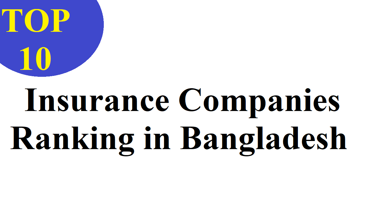 10 Best Insurance Companies Ranking in Bangladesh
