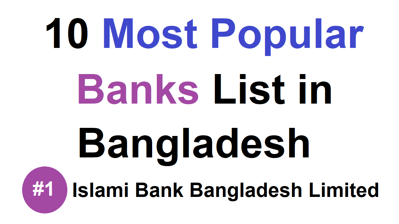 10 Most Popular Banks List in Bangladesh - Business Daily 24