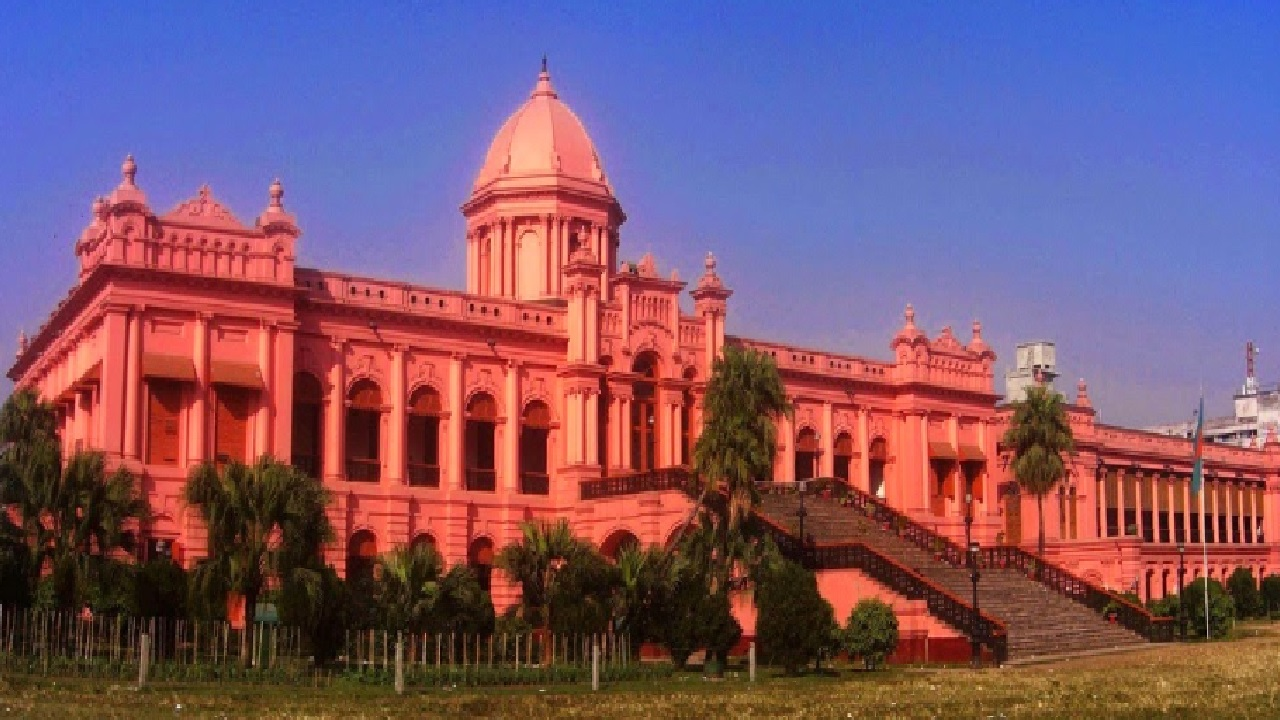 Ahsan Manzil - Top 10 Tourist Attractions in Dhaka