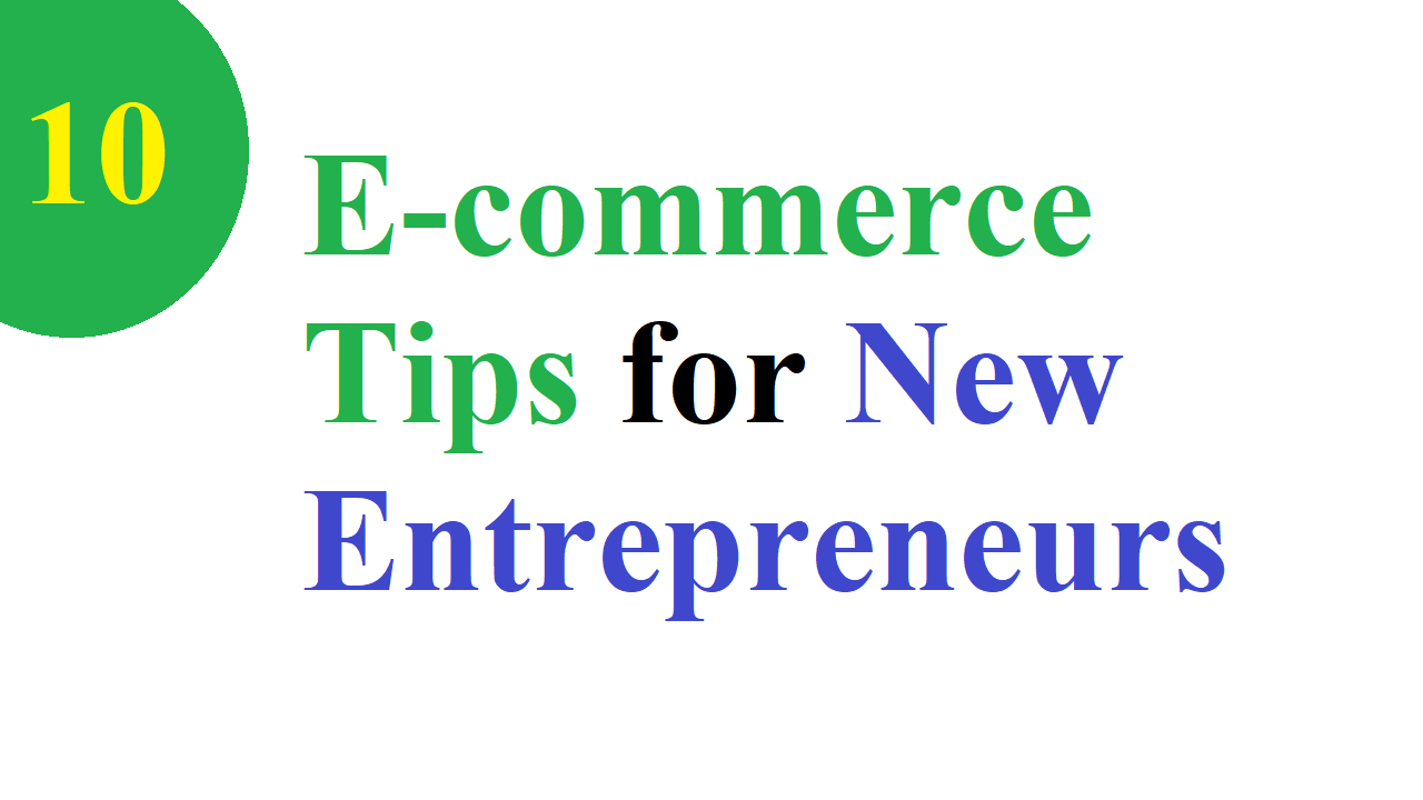 E-commerce Tips for New Bangladeshi Entrepreneurs