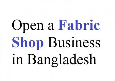 Fabric Shop Business