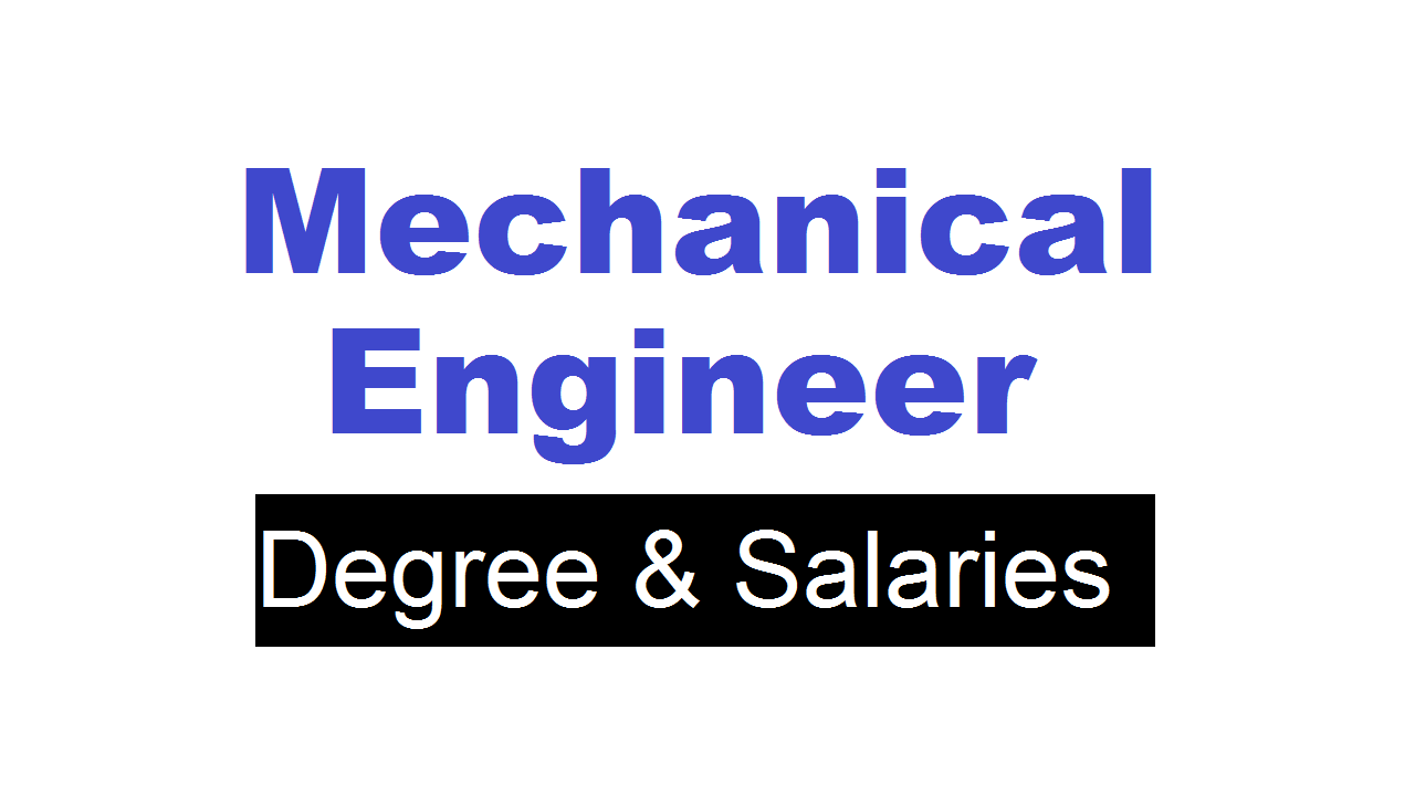 Mechanical Engineer in Bangladesh Degree & Salaries