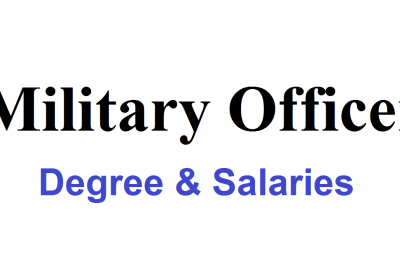 Military Officer in Bangladesh Degree & Salaries