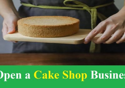 Open a Cake Shop Business